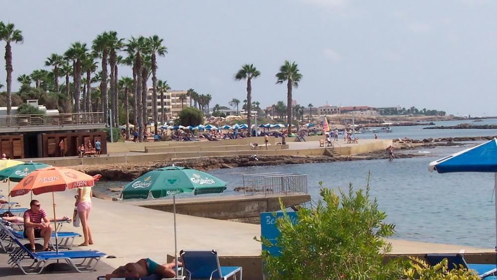 Городской пляж Пафос