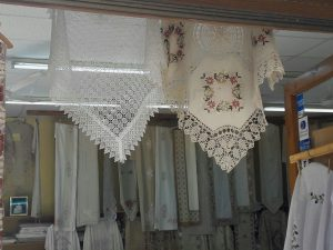 Вышивка и кружевные изделия